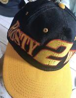 Rusty Wallace 2 NASCAR Vintage Snapback Trucker Baseball Hat Cap  Miller Racing