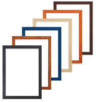 Confetti Wood Range 20mm Picture Frame Photo Frame Fitted High Quality Glass  A4