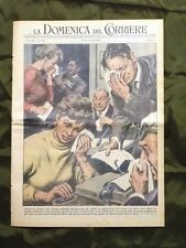 La Domenica del Corriere 13 Dicembre 1953 Epidemia Lacrime Monache L. Vedovelli