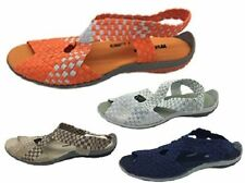 Flat (0 to 1/2 in.) Slingbacks Slip On Synthetic Sandals & Flip Flops for Women