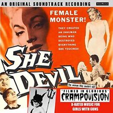 SHE DEVIL  ORIGINAL SOUNDTRACK FILMED IN GLORIOUS CRAMPOVISION [CD]