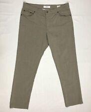 Brax Mens Cooper Fancy Regular Fit Pants 38! X 32 Beige Wool Blend