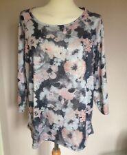 Papaya Plus Size Floral Tops & Shirts for Women