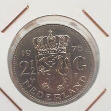 Netherlands: 2 1/2 Gulden 1978 XF
