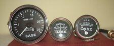 Case Tractor Temperature Tachometer Ammeter Gauge Set