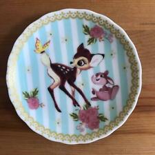 TOKYO Disney RESORT Bambi & Thumper Mini dish Picture plate 10cm Garnish TDL