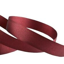 23 or 46 Metres of Grosgrain Ribbon in 6 10 15 or 25mm Widths #022 Burgundy 6mm 23 Metres