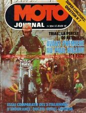 MOTO JOURNAL  304 GUZZI KRAJKA Le MANS Matic DUCATI Les ITALIENNES BOL d'OR 1977
