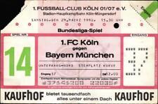 Ticket BL 79/80 1. FC Köln - FC Bayern München, 29.03.1980, Unterrang
