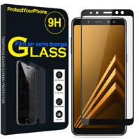 "Vitre De Protection Écran Film Verre Trempe Samsung Galaxy A8 (2018) A530F 5.6"""