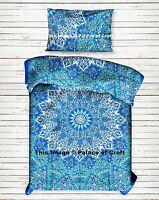 Star Elephant Mandala Indian Single Bedding Blanket Duvet Doona Cover Set Hippie