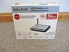Belkin Wireless G Router, Broadband 802.11g, 54Mbps  F5D7632-uk4A