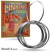 """Magic Makers Linking Rings Size Small 4"""" (Inches)"""