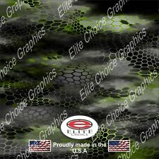 "Hex 2 Green CAMO DECAL 3M WRAP VINYL 52""x15"" TRUCK PRINT REAL CAMOUFLAGE"