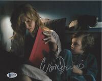 ESSIE DAVIS HAND SIGNED 'THE BABADOOK' 8x10 PHOTO ACTRESS PROOF BECKETT COA BAS