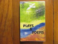 "SWAMI  SASTRANANDA  Signed  Book(""PLAYS  &  POEMS""-1994  1st  Softback  Edition)"