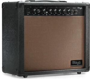 Stagg 20 AA R Federhall Akustik-Gitarren-Verstärker