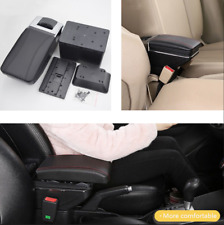 Car Central Container Armrest Box Storage w/Light 7 USB Rechargeable Style