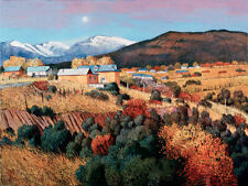 DonnaClairArt -EARLY MOONRISE AT TRUCHAS -Large Print