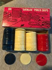 Poker Chips, Catalox & Other
