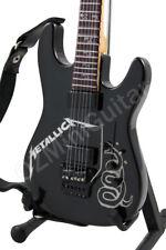 Miniature Guitar METALLICA Black Custom ESP & Strap