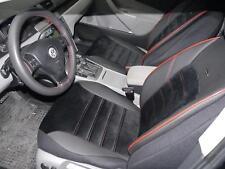 Cubiertas De Asiento De Coche Apto Toyota Prius-Eco-cuero Negro//Beige
