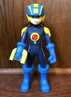 "Mega Man NT Warrior 10"" Action Figure 2004 Mattel Nintendo Capcom Video Game"