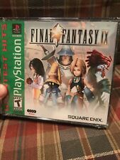 Final Fantasy IX (PlayStation 1, 2000) New Sealed
