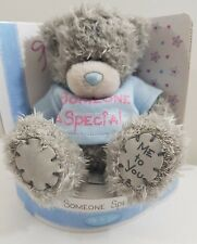 Me To You Tatty Teddy Bear - Someone Special - Blue T-Shirt. New in Box
