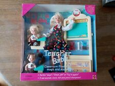 Barbie Teacher Barbie Classroom Filled With Magic And Sound 1994 Brand New