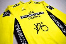 Nalini Fahrrad Rad Trikot Jersey Maillot Camiseta Maglia Neri Cesna Vintage L-XL