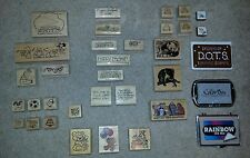 D.O.T.S. Rubber Stampede PSX and Others RUBBER STAMP LOT + BONUS INKS!!!!