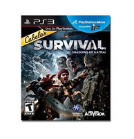 NEW PS3 Cabelas Survival Shadows of Katmai PlayStation 3 Hunter Video Game