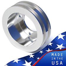 small block ford crank pulley v-belt sbf 302 351w 351c crankshaft 2 groove