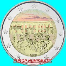 """MALTE 2012  2 EUROS CC """" MAJORITE """" COULEUR/COLOR/ KLEUR/COLORIERT"""