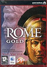 Europa UNIVERSALIS ROME GOLD Mac OS 10.5.8 o superiore Gioco di Strategia NUOVO