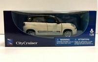 Fiat 500 L (2012) in White (1:24 scale by New-Ray Toys 71273W)