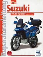 SUZUKI DR 750 Big 800 S Reparaturanleitung Reparatur-Handbuch Reparaturbuch Buch