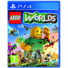LEGO Worlds Video Game For Sony PS4 Games Console  Brand New Sealed