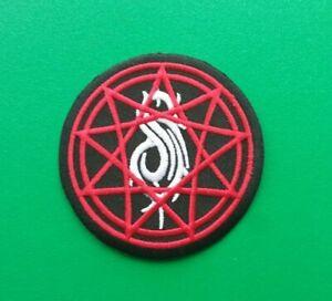 Slipknot Patch Punk Rock Heavy Metal Pop Music Sew/Iron On Badge (c)