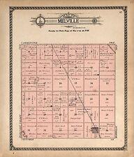 1910 Atlas Foster County North Dakota plat map Genealogy history Dvd P137