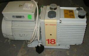 Edwards E1M18 Vacuum Pump