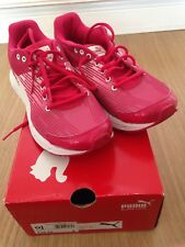 PUMA Sequence Pink Trainers Gym Keep Fit Shoes UK 6 Very Good Condition