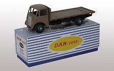 DAN TOYS GUY Flat Truck Marron  Exclu.500 Ex.Ref DAN 242