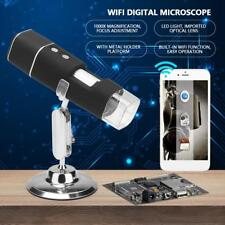 Digital Microscope Magnifier Wireless WiFi 1000X 2MP HD USB for iPhone/Android w