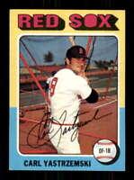 1975 Topps #280 Carl Yastrzemski EXMT+ Red Sox 514295