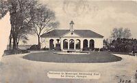D92/ La Grange Georgia Ga Postcard 1937 Entrance to Municipal Swimming Pool 2