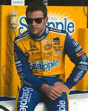 MARCO ANDRETTI signed 8x10 photo IRL INDY with COA A