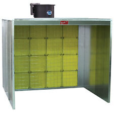 Paasche Walk-in Paint Spray Booth 8' Wide x 7' High - Made in The USA (NEW)
