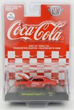 1:64 M2 Machines *COCA COLA COKE HOBBY RC01* CHASE CAR 1969 Chevrolet Camaro NIP